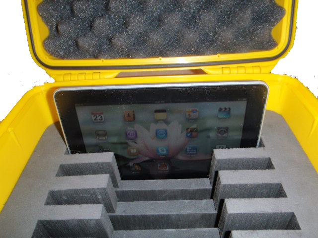 6 iPad transport case